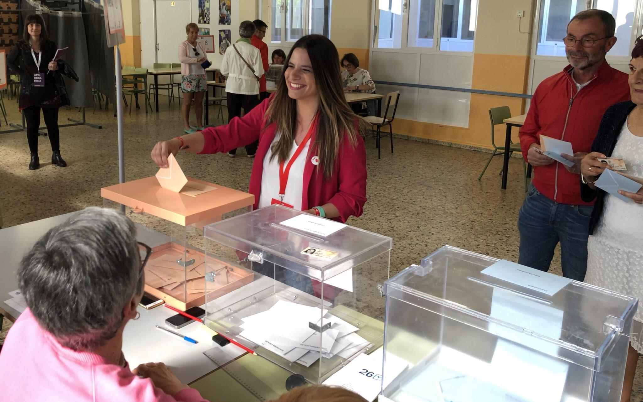 Nuria Rubio anima a una participación masiva en las elecciones del 26M