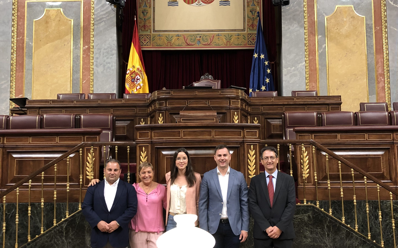 Cendón, portavoz de la Comisión de Ciencia y Andrea Fernández, portavoz adjunta de la de Justicia
