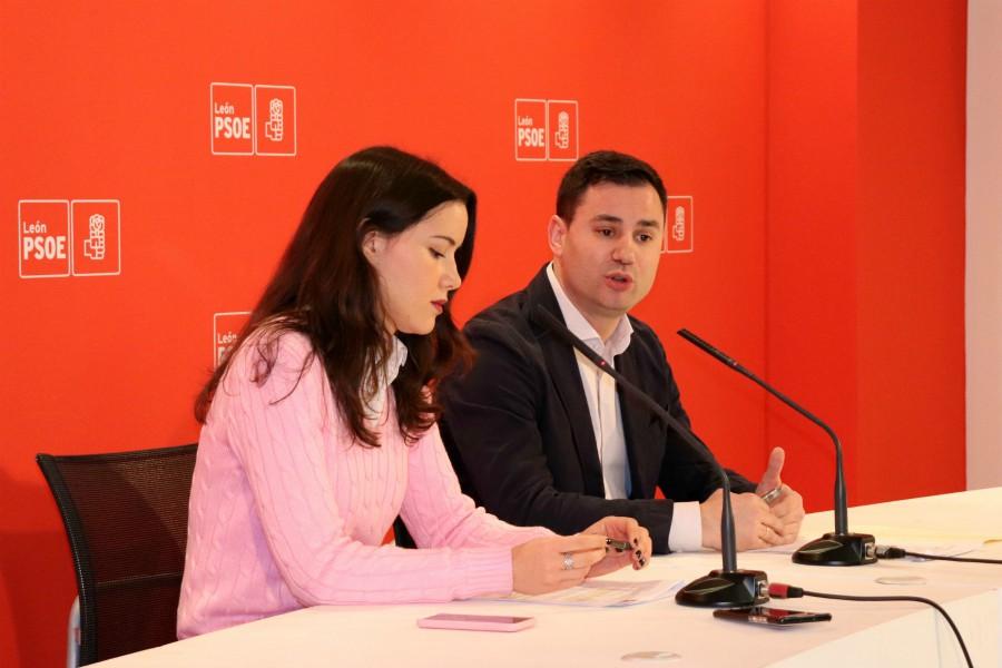 El PSOE de León insiste en difundir las medidas que protegen a las víctimas de violencia de género durante el aislamiento