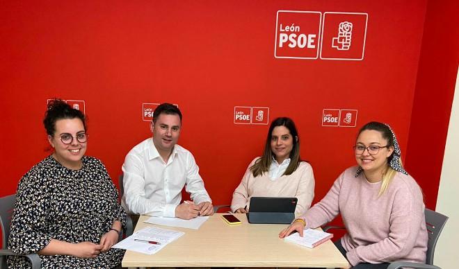 PSOE y Juventudes Socialistas de León unen fuerzas para defender los intereses y el futuro de los jóvenes de la provincia