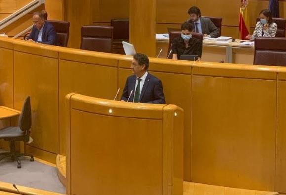 Salvador Vidal pide unidad y lealtad en el Senado para defender en Europa mejores condiciones para el sector agrario