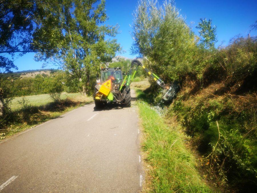 El PSOE de Prado agradece a la Diputación la rápida intervención en la limpieza de sus carreteras