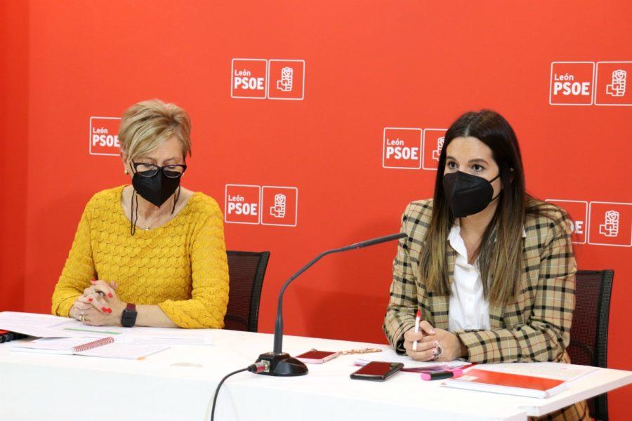 """Nuria Rubio: """"PP y Cs se niegan a que se conozca lo que pasó en las residencias de León cuando sabemos que más de la mitad de los fallecidos en estos centros murieron solos"""""""