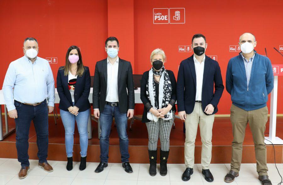 El PSOE de León se prepara para vertebrar soluciones encauzando la ventaja de los fondos europeos en toda la provincia