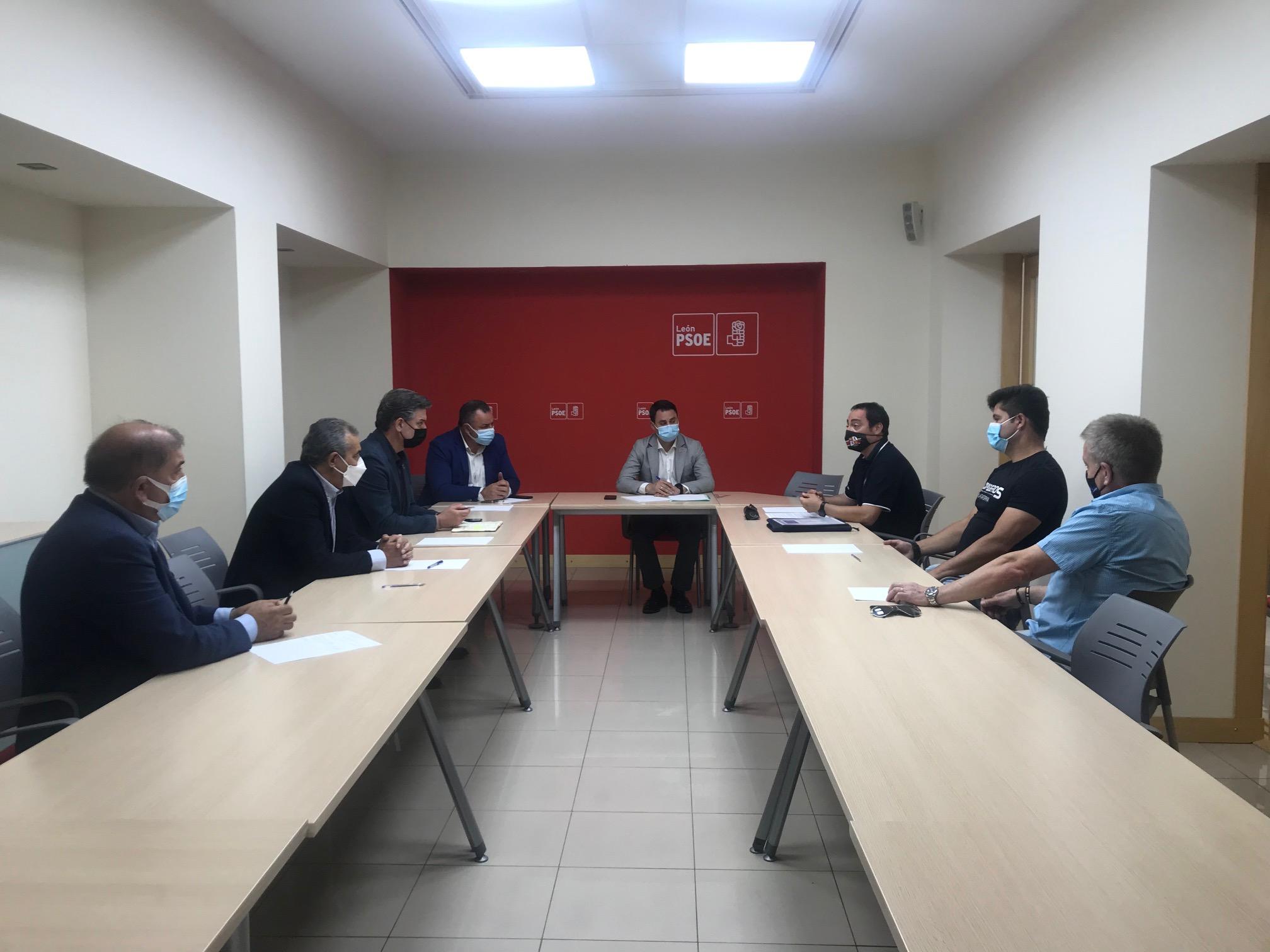 El PSOE de León exigen financiación a la Junta de Castilla y León para la puesta en marcha del Servicio Público de Protección, Extinción de Incendios y Salvamento