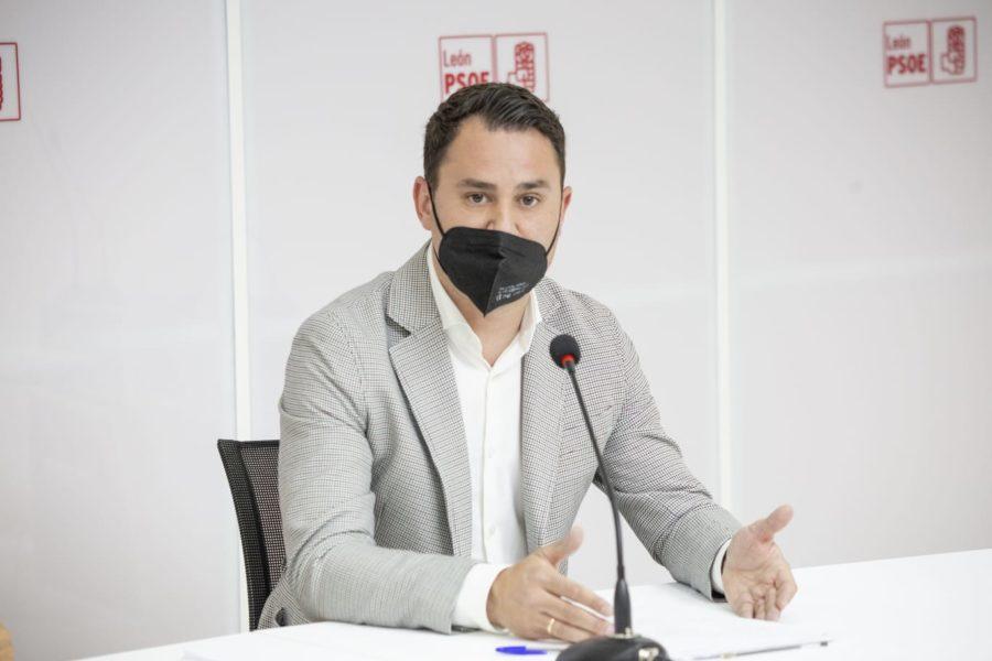Cendón lamenta la actitud torticera de Montesinos y exige al PP que deje de castigar a los leoneses con propaganda falsa y negativa