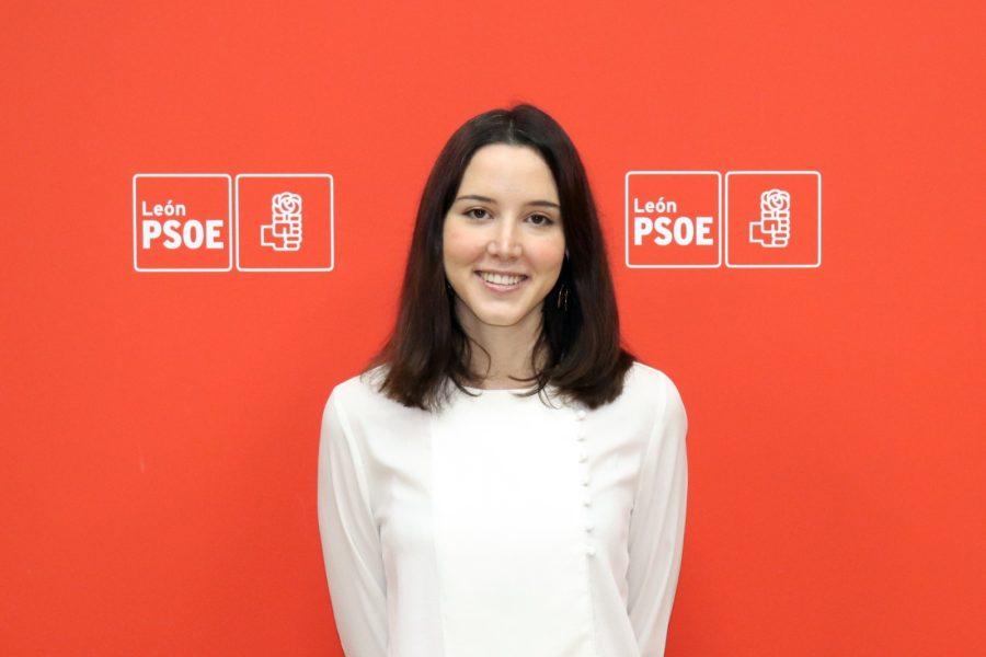 La diputada nacional por el PSOE de León Andrea Fernández formará parte del Comité Coordinador del 40 Congreso Federal del PSOE